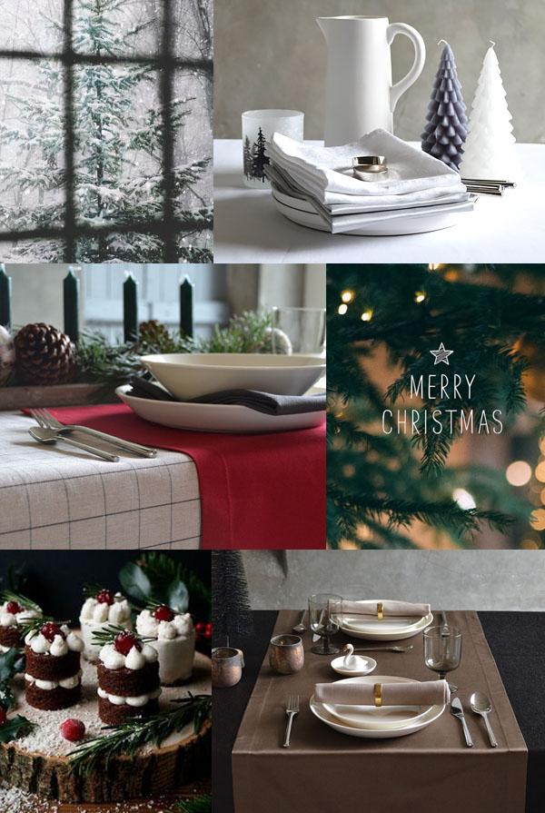 Une nappe de Noël de Cottona transforme Noël en fête
