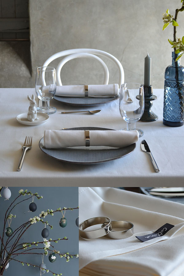 Table de Pâques classique