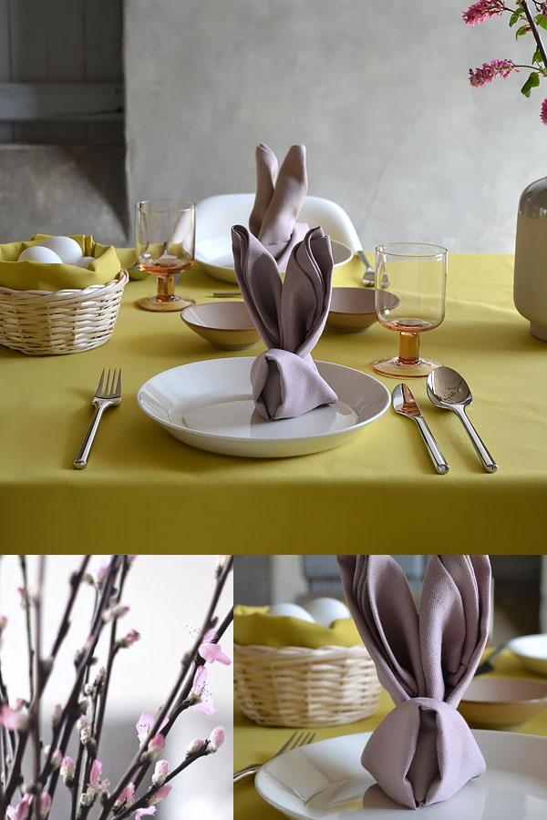Table de Pâques moderne