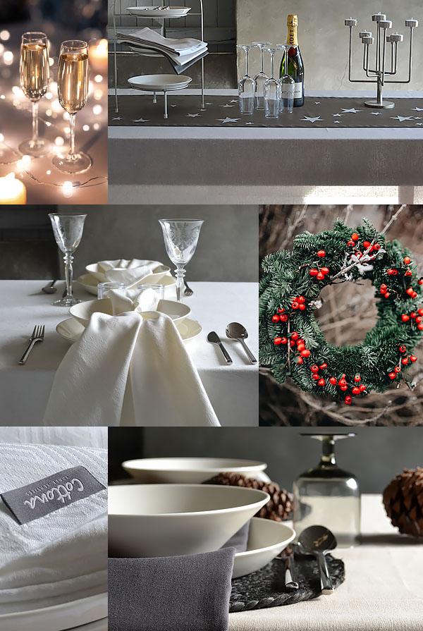 Style de table de Noël pour 2020